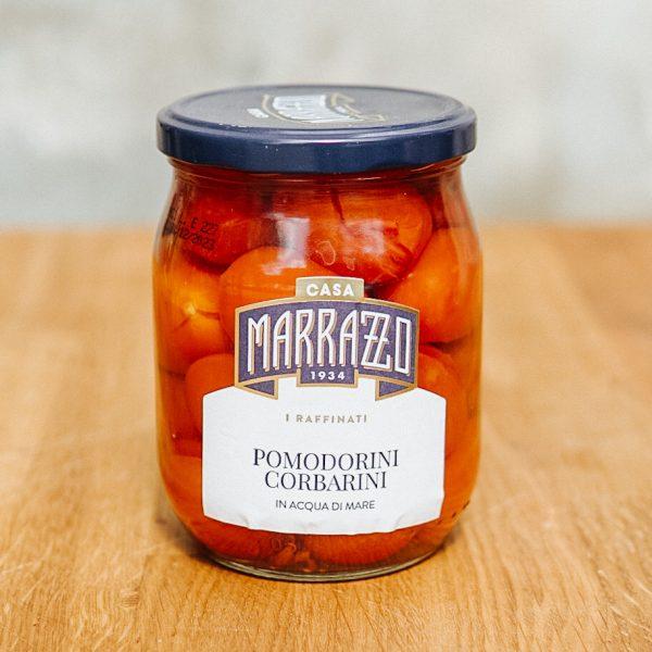 Pomodorini Corbarini pomidory w wodzie morskiej