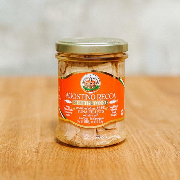 filety z tuńczyka w oliwie